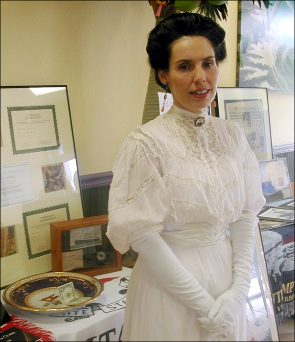 Denise Vanaria Titanic Historian