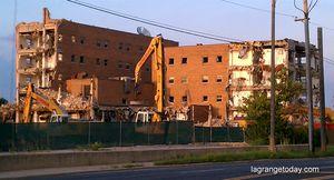 Rich port ymca demolition 081410