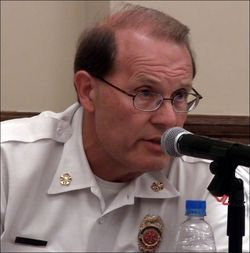 La grange fire chief david fleege